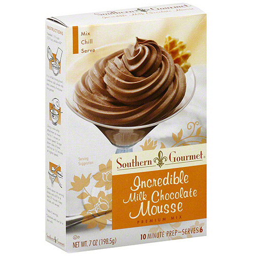 Southern Gourmet Milk Chocolate Mousse, 7 oz (Pack of 6)