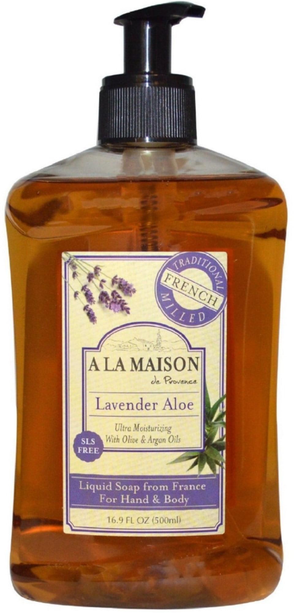 2 Pack - A LA MAISON Provence Liquid Soap, Lavender Aloe 16 9 oz