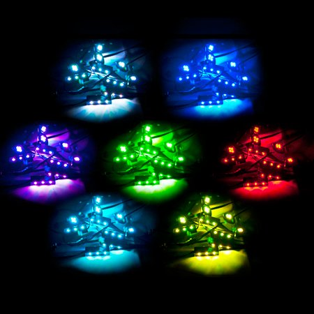 Motorcycle 7 Color LED Accent Light Kit Remote For Honda CBR 250R 929 954 RR - image 1 of 5