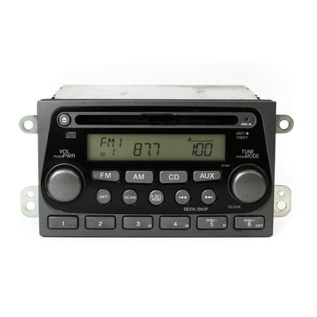 OEM 2003 Honda Element AM FM CD Radio Face 2TW0 Code Included 39101-SCV-A010-M1 - Refurbished Honda Element 2003 Accessories