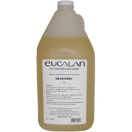 Eucalan Wool Wash (Eucalan Fine Fabric Wash, Gallon Jug )