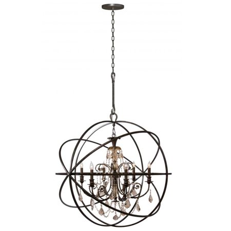 Crystorama 9219 eb gt mwp solaris chandeliers 40in english bronze crystorama 9219 eb gt mwp solaris chandeliers 40in english bronze wrought iron aloadofball Images