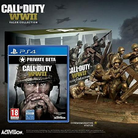Activision Call of Duty: WWII Valor Triforce Collection (Call Of Duty Wwii Valor Collection Pro)