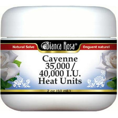 Cayenne 35,000 / 40,000 I.U. Heat Units Salve (2 oz, ZIN: - Cayenne Heat