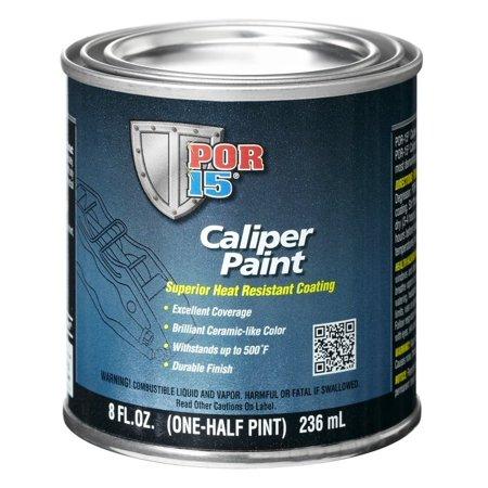 POR-15 42806 Red Brake Caliper Paint - 8 fl. - Brake Caliper Dust Cover