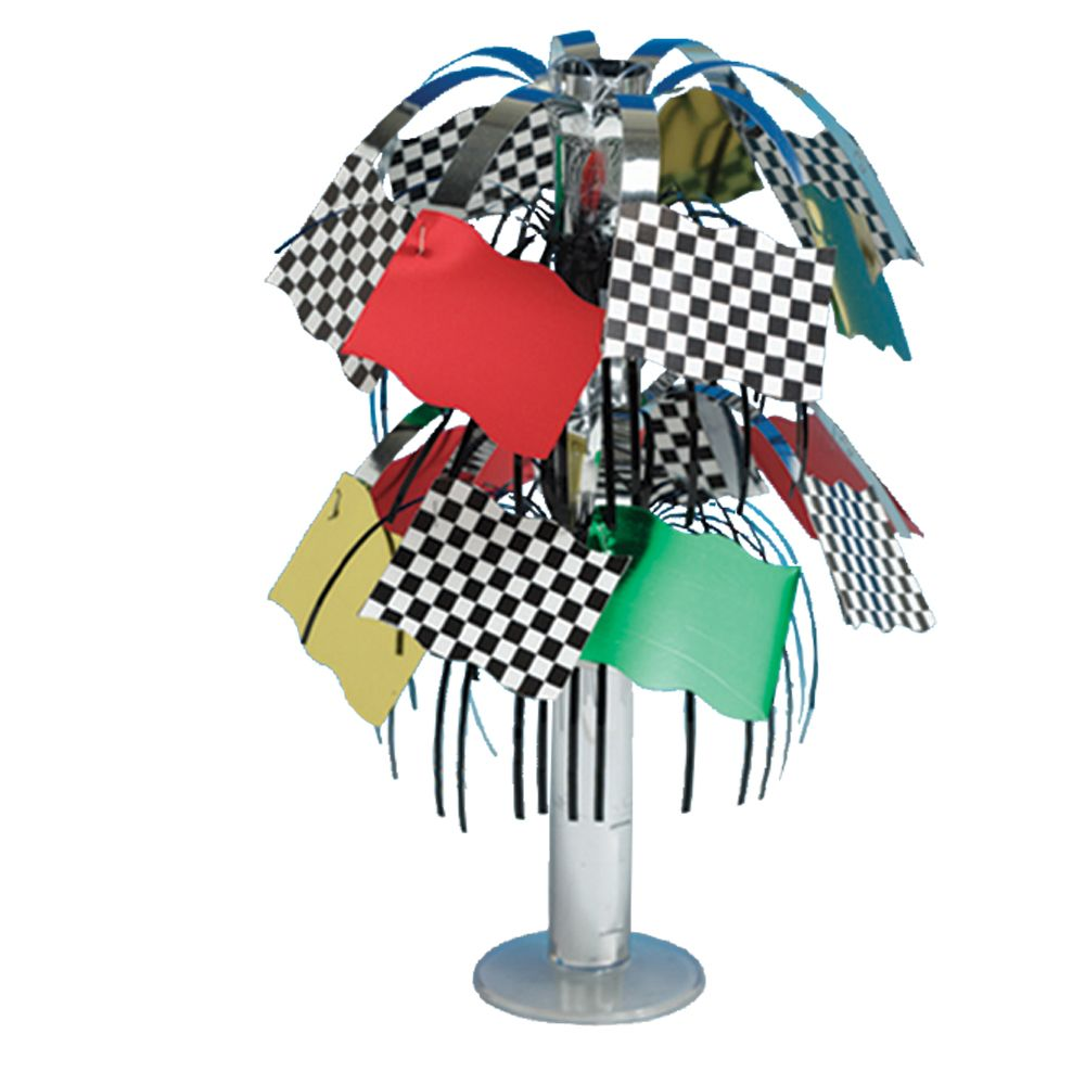 Racing Party Centerpiece - Party Supplies