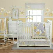MiGi by BananaFish Sweet Sunshine Collection 3-Piece Crib Bedding Set - Value Bundle