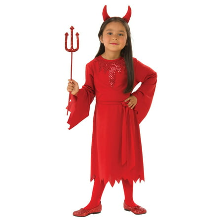 Girls Devil Costume](Angel Devil Costumes Halloween)