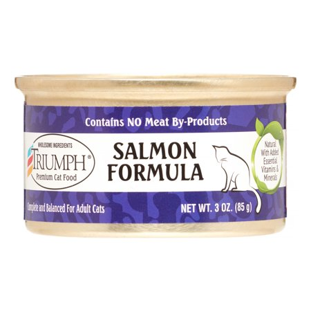 Sunshine Mills Triumph Salmon Formula Wet Cat Food, 3 - Mills Salmon