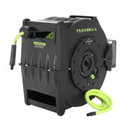 """Flexzilla® Retractable Air Hose Reel with Levelwind™ Technology, 1/2"""" x 50'"""