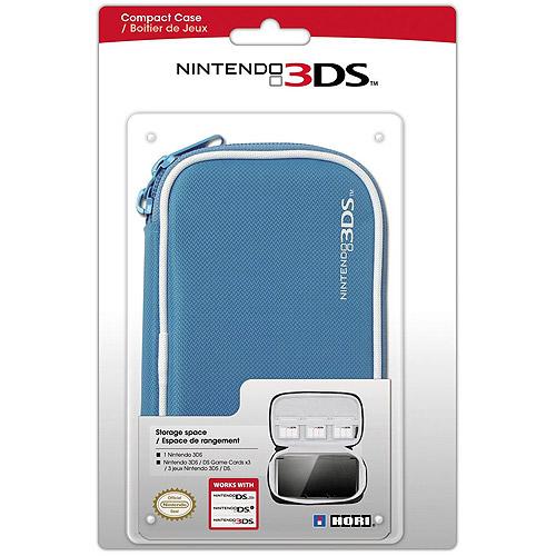 Hori Compact Case, Blue (3DS)