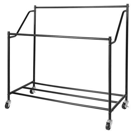 4-Bag Laundry Hamper Rolling Laundry Sorter Storage Cart with w/Removable Bags and Brake Casters, Black - image 1 of 10