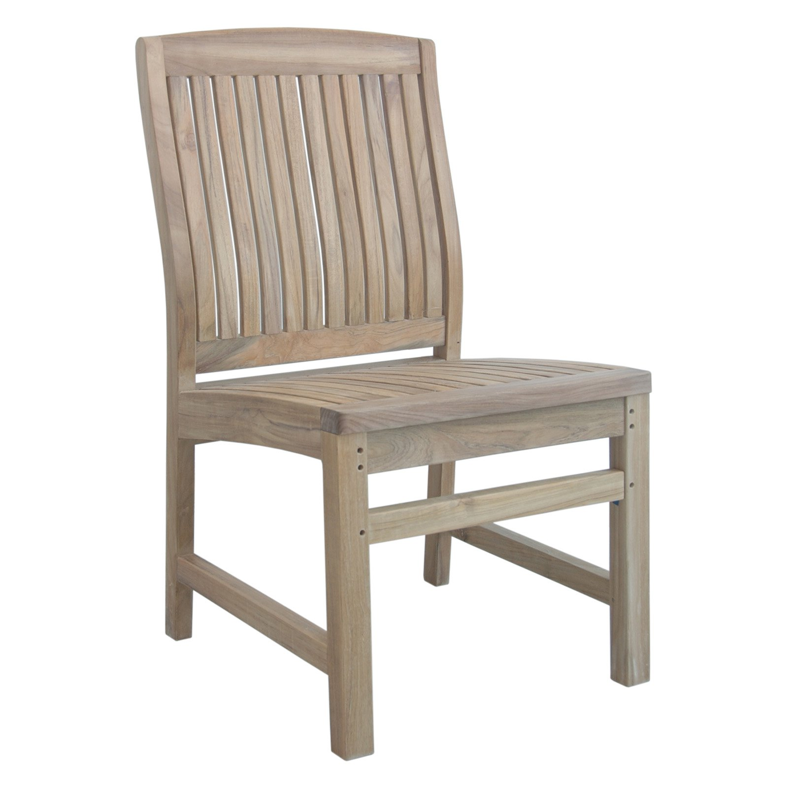 Anderson Teak Sahara Outdoor Dining Side Chair by Anderson Teak