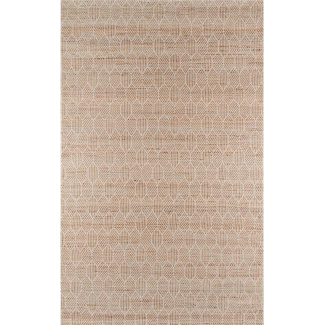 Momeni BENGABEN-1NAT2380 Bengal Indian Hand Made Area Rug, Natural 2 ft. 3 in. x 8 ft. by Momeni