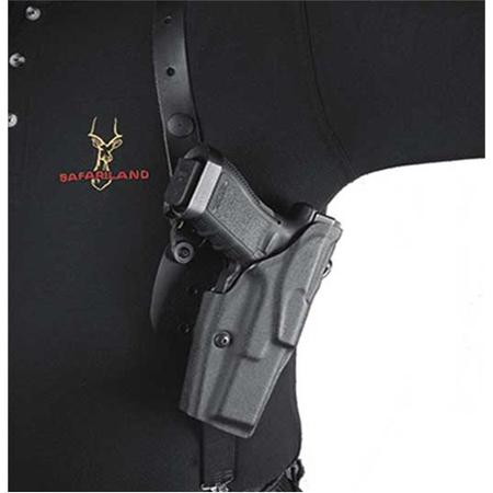 SAFARILAND 1051 Shoulder Holster System Finish: Plain Gun Fit: Glock 17 Hand: Right