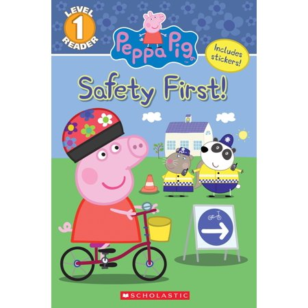 The Safety First! (Peppa Pig: Level 1 Reader) (Paperback) - Peppa Pig Halloween Colouring