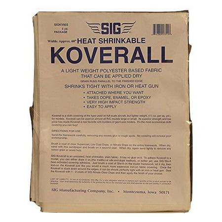 SIG Heat Shrinkable Koverall 5 Yard Package