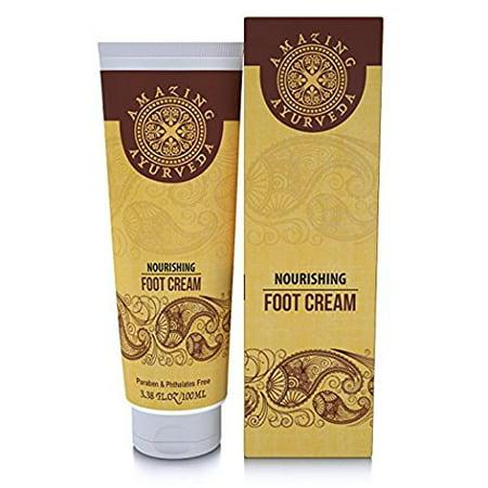 100 Ml Cream (Amazing Ayurveda Nourishing Foot Cream - All Natural Nourishing Foot Cream (100)