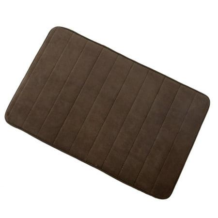 Unique Bargains Bath Rug Non Slip Soft Memory Foam Carpet