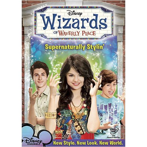 WIZARDS OF WAVERLY PLACE-SUPERNATURALLY STYLIN (DVD/FF 1.33/SP-SUB)