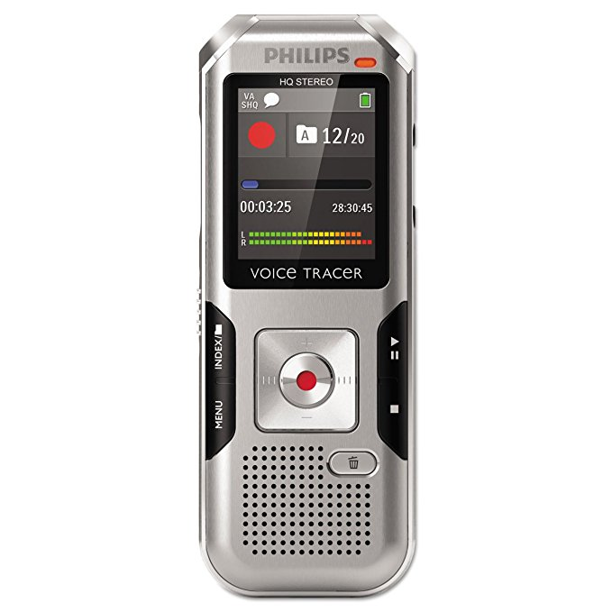 Philips DVT4000 VoiceTracer Digital Recorder