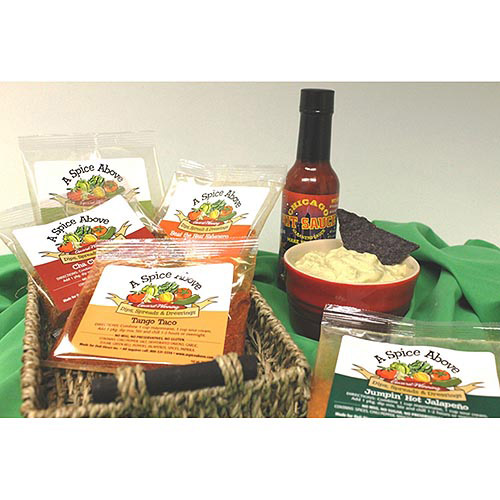 Deli Direct Spicy Dips, Sauces and Spreads Gift Pack