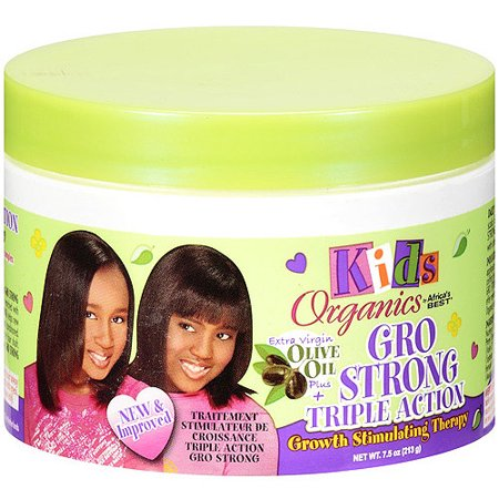 Africa's Best Kids Organics Gro Strong Triple Action Therapy, 7.5