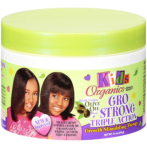 Africa's Best Kids Organics Gro Strong Triple Action Therapy, 7.5 Oz