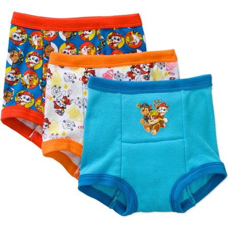 - Paw Patrol Toddler Boys' Training Pants, 3 Pack