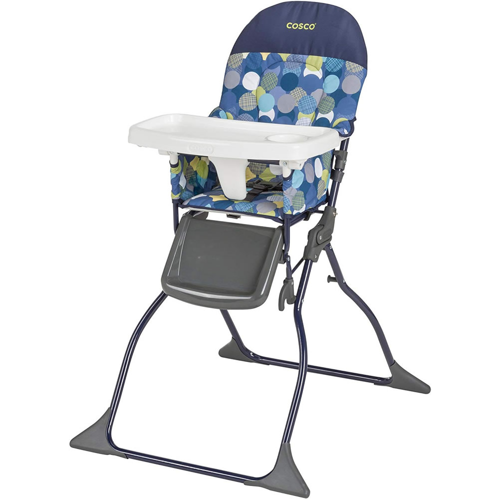 Cosco Simple Fold Full Size High Chair with Adjustable Tray by Cosco