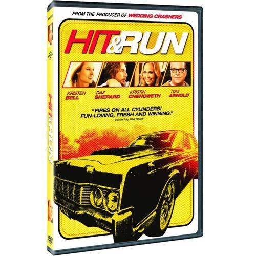 HIT & RUN (DVD) (ENG SDH/SPAN/FREN/WS/2.40:1)