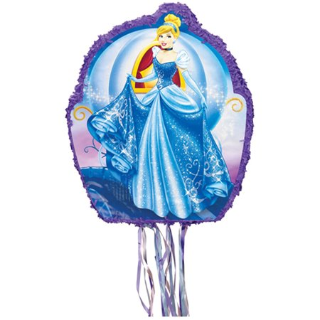 Disney Cinderella Drum Pull-String Pinata (Cinderella Birthday)