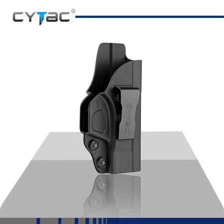 CYTAC Inside the Waistband Holster | Gun Concealed Carry IWB Holster | Fits S&W M&P Shield (Best Appendix Carry Holster)