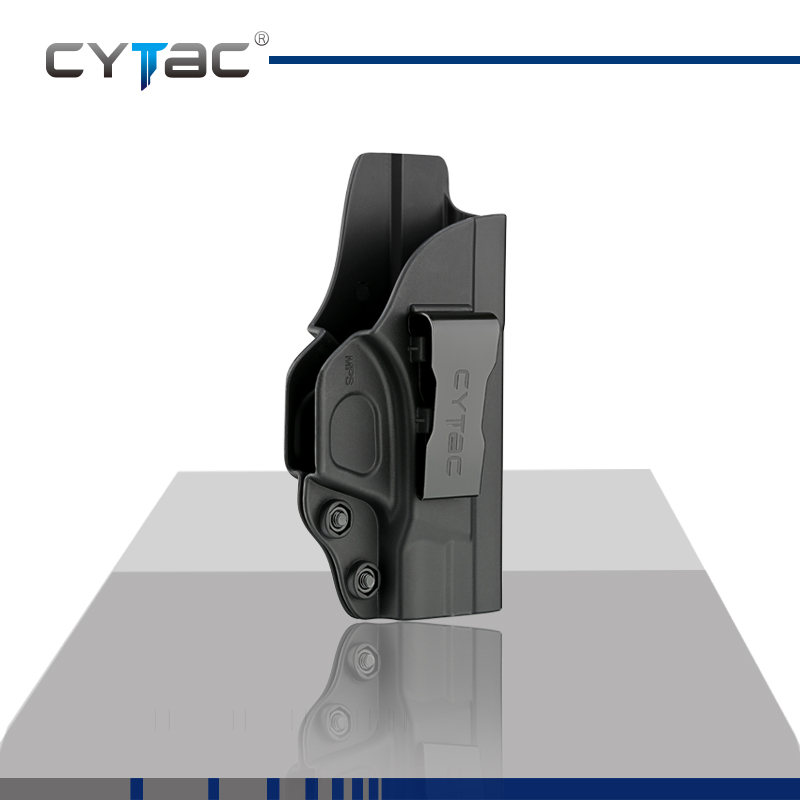 CYTAC Inside the Waistband Holster | Gun Concealed Carry IWB Holster | Fits S&W M&P Shield 9/40