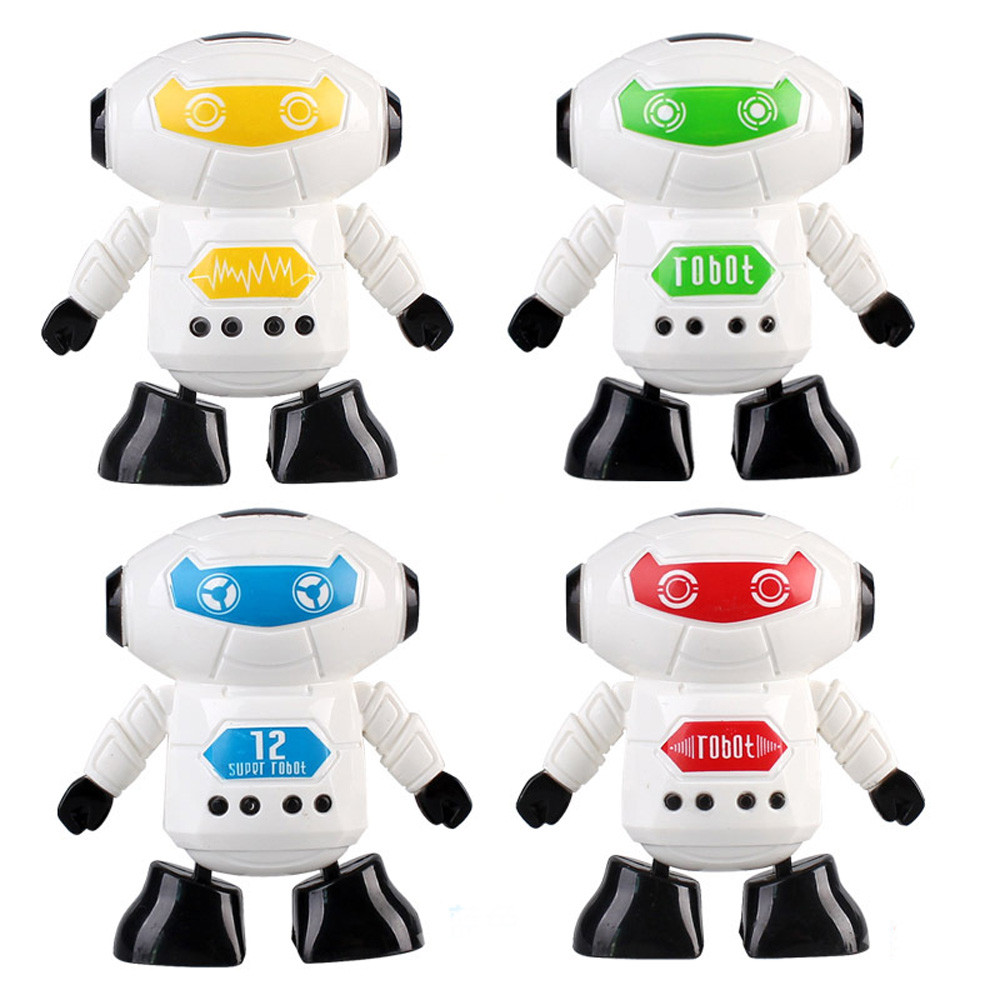 Mosunx Clockwork Wind Up Running Robot Toy for Baby Kids Developmental Gift Puzzle Toys