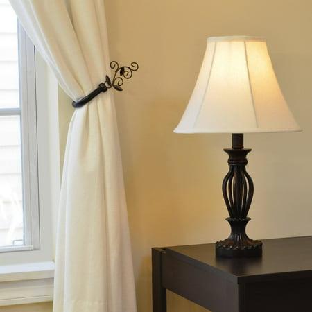 Decor Works LLC Antique Bronze Iron Scrollwork Table Lamp