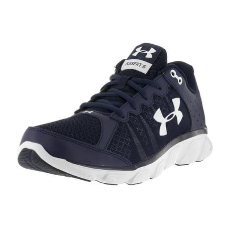 new product 43cda c68db UNDER ARMOUR UA Shoes - Under Armour Men s Under Armour Men s Micro G Assert  6 Running Shoes Shoe, Midnight Navy White, 8 Medium US - Walmart.com