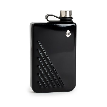 TAL Stainless Steel Ridgline Flask Black