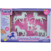 Breyer Stablemates Horse Crazy Colorful Breeds Craft Activity Paint Set (1:32 Scale)