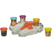 Play-Doh Star Wars Millenium Falcon Set with 5 Can-Heads
