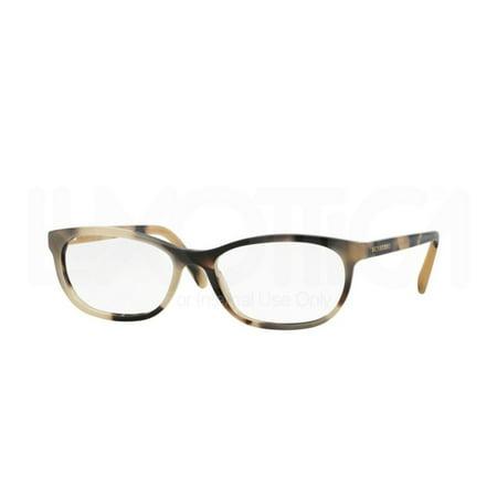 Burberry Eyeglasses BE2180 3501 Light Horn 52 16 140](Light Up Eyeglasses)