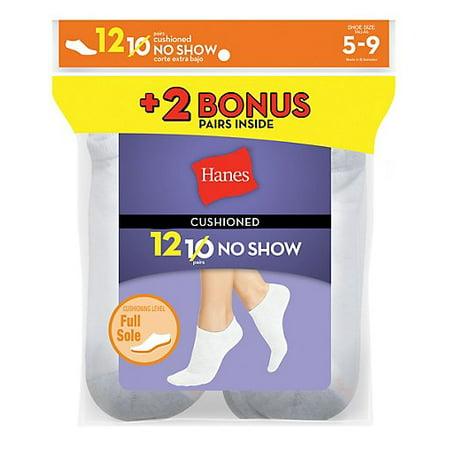 Hanes P10 2 Bonus Women Socks