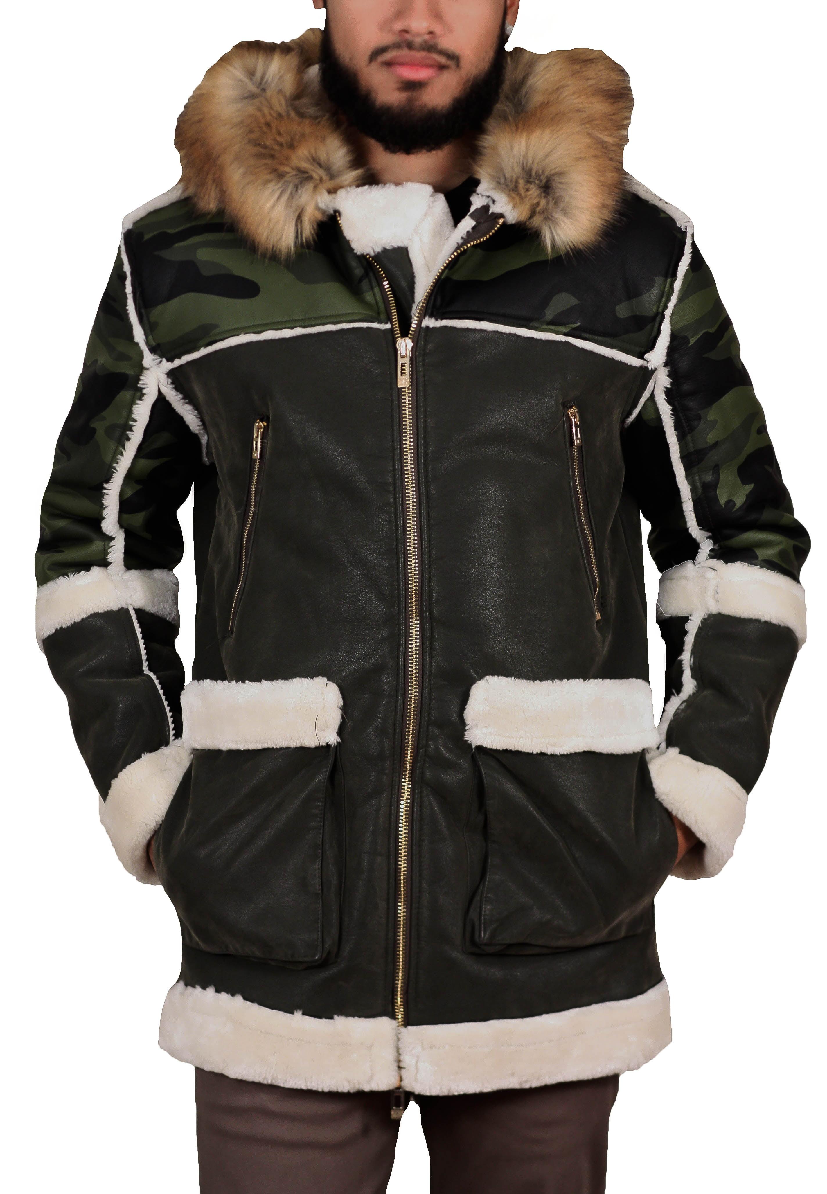 jordan craig shearling coats