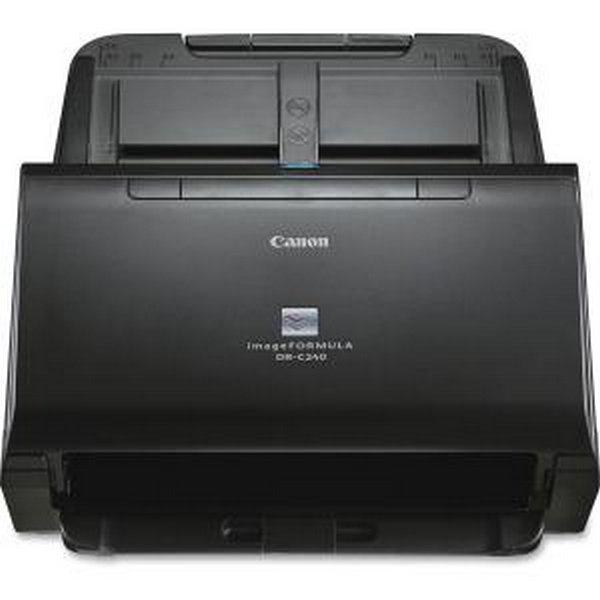 CANON USA - SCANNERS 0651C002 DR-C240 OFFICE DOCUMENT SCANNER 50 SHEET FEEDER 45PPM BLACK & WHITE