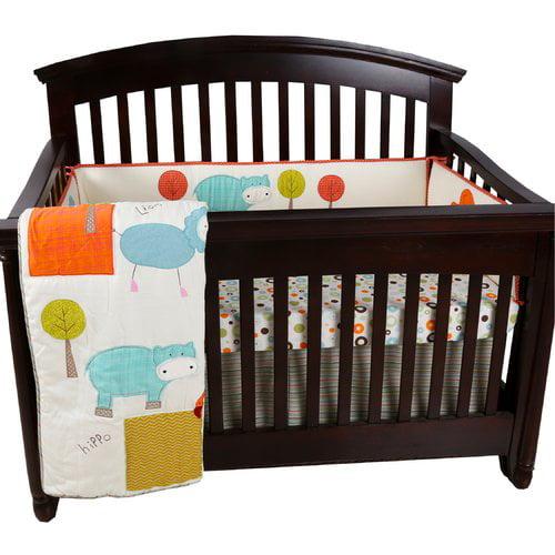 Harriet Bee Clendon 4 Piece Crib Bedding Set Walmart Com