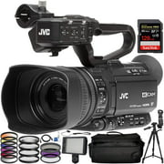 JVC GY:HM180 Ultra HD 4K Camcorder with HD:SDI with Additional Accessories