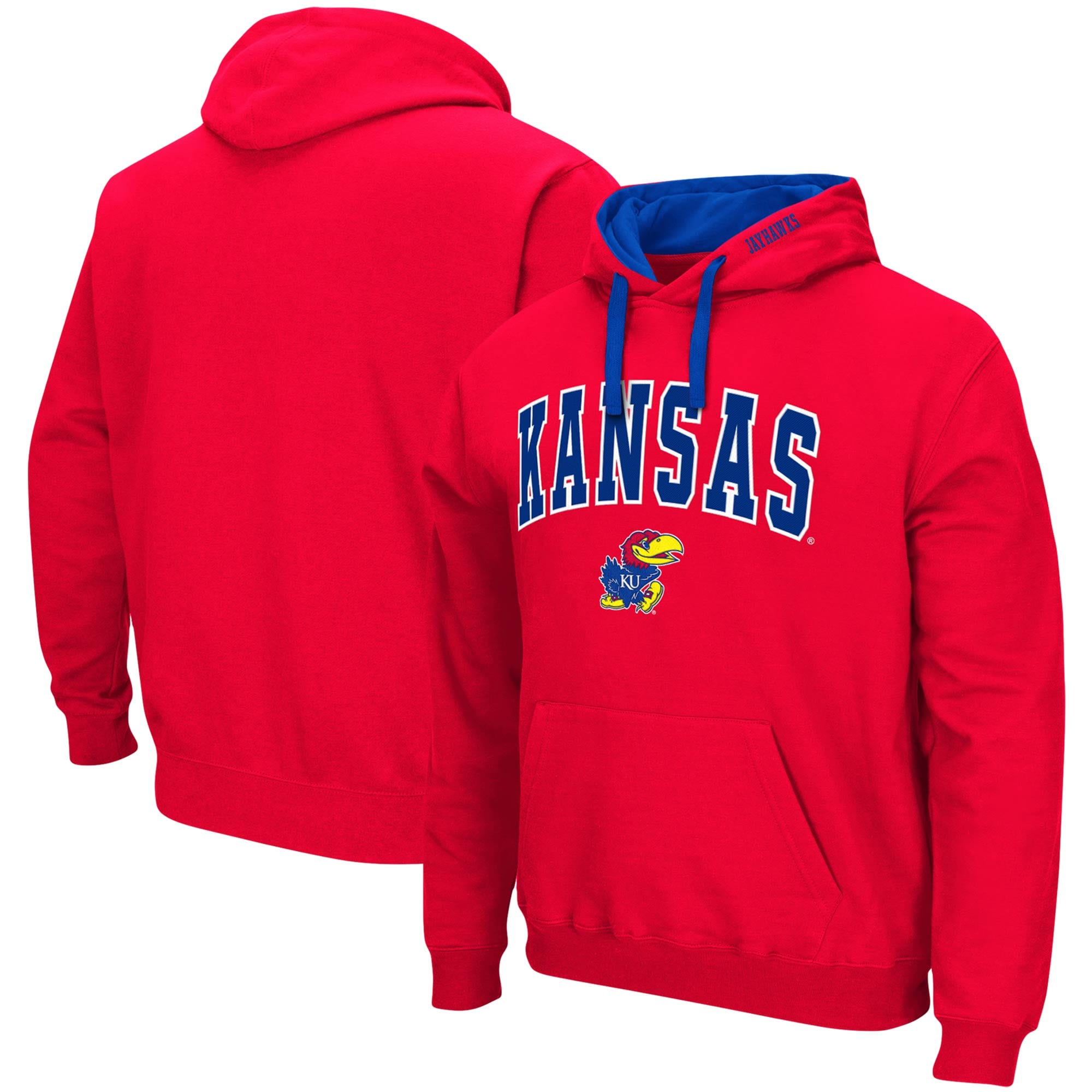 College Kids Kansas Jayhawks NCAA Toddler Pullover Fleece Hoodie