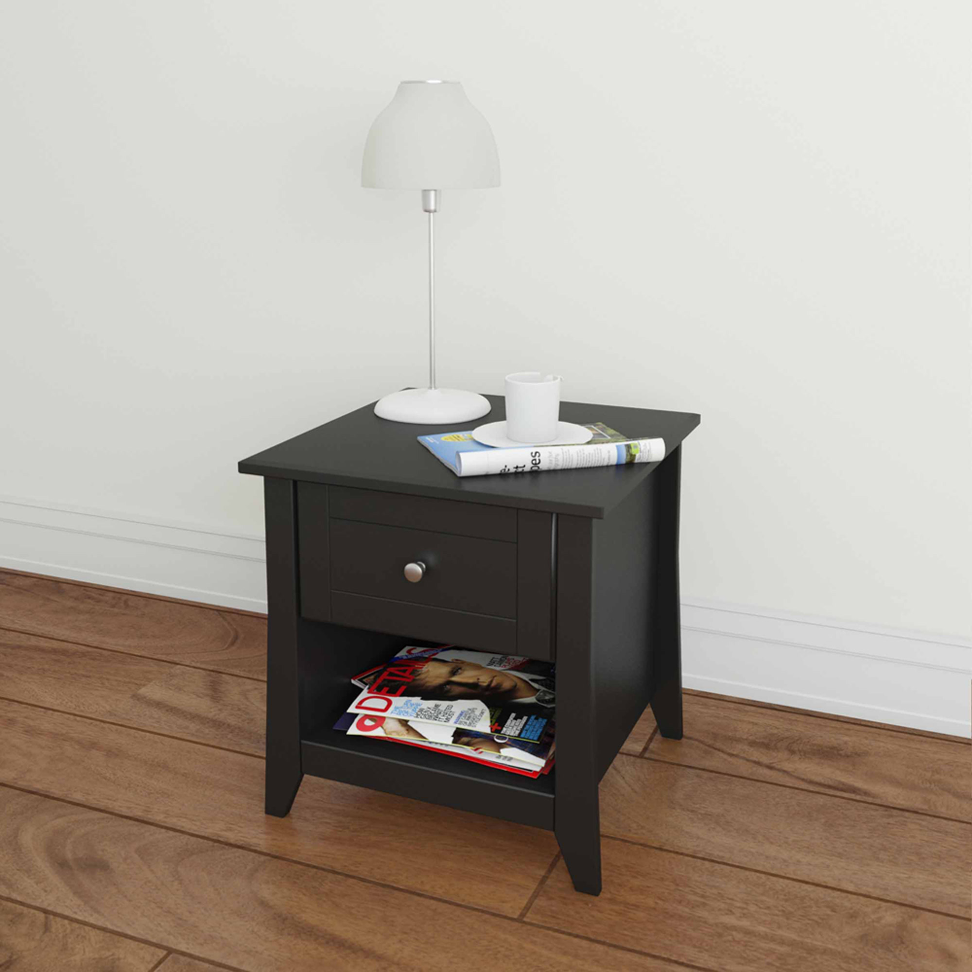 Tuxedo End Table, Black