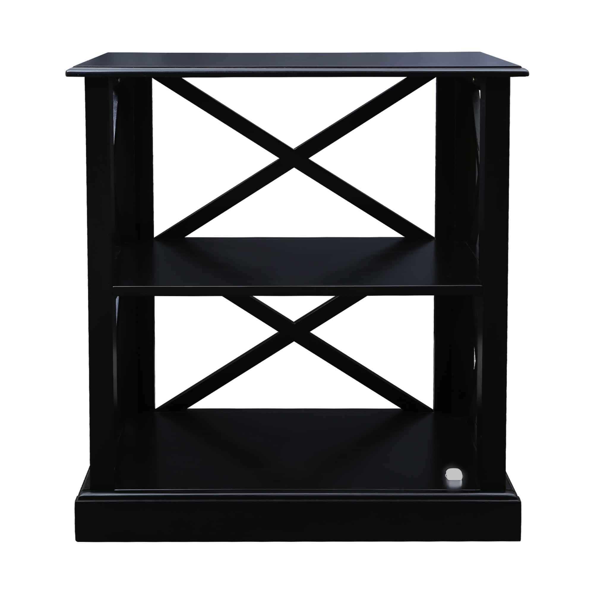 Jackson 3-Shelf Bookcase with Concealed Drawer, Concealment Furniture
