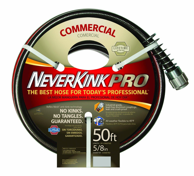 """Teknor Apex 5/8""""x50' Commercial Hose Bk/yw 8844-50"""